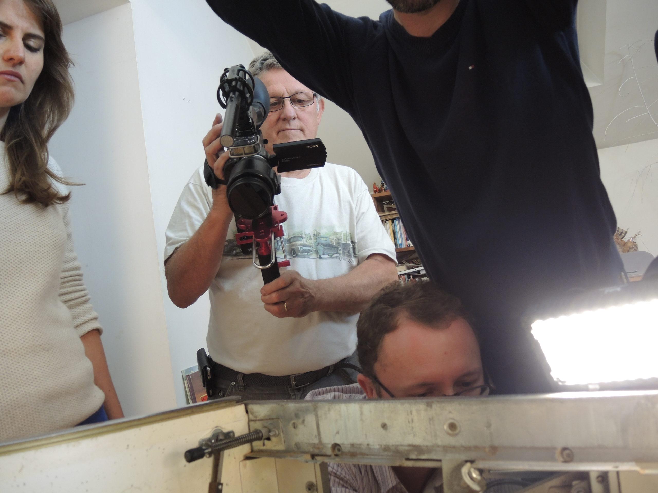 Game over photos tournage 30