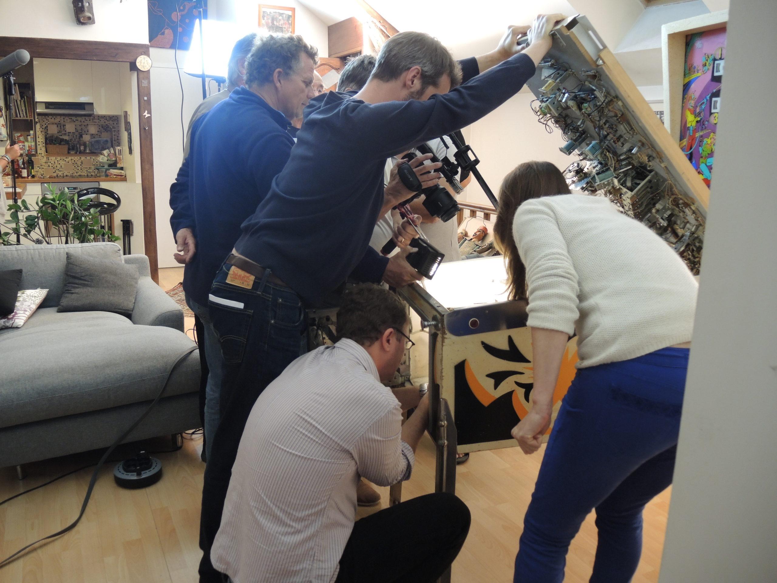 Game over photos tournage 36