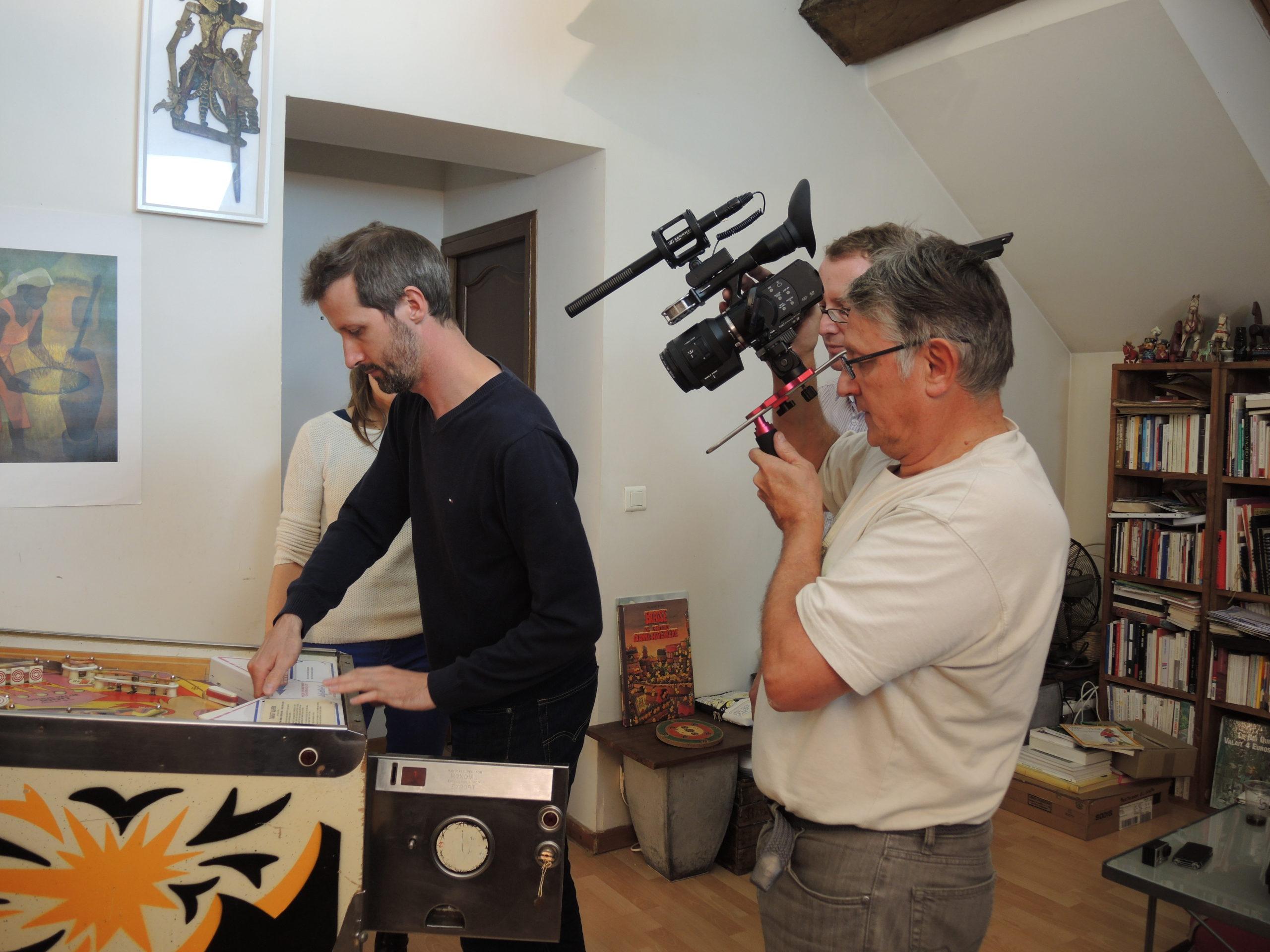 Game over photos tournage 42