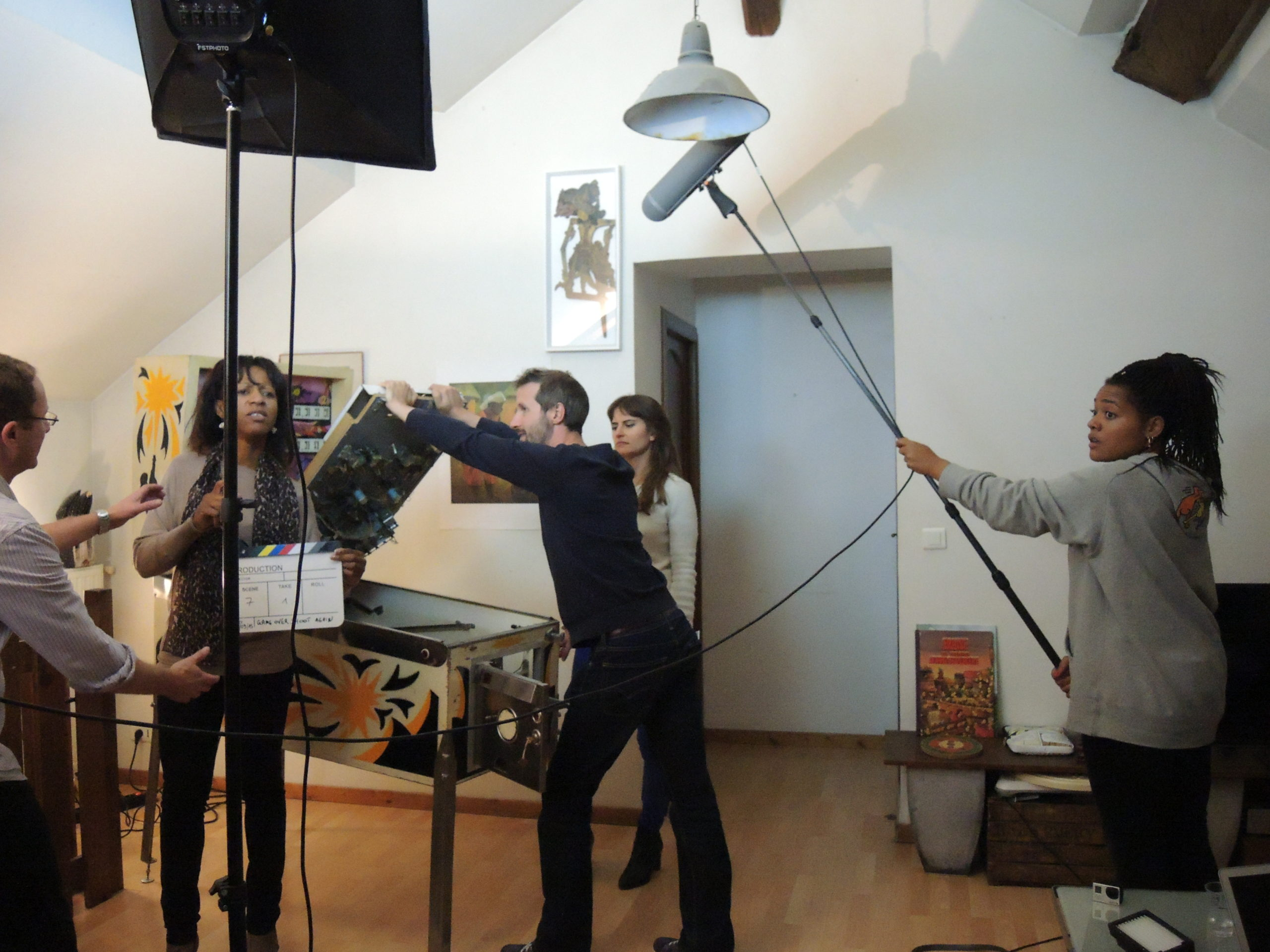 Game over photos tournage 45