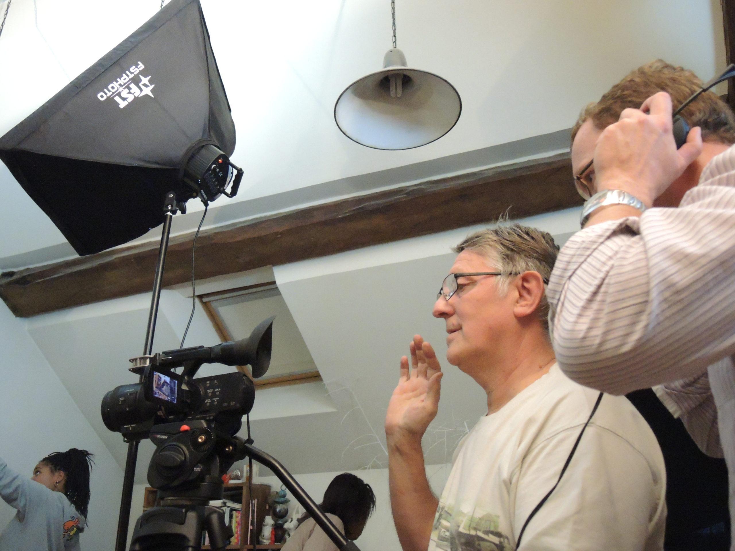 Game over photos tournage 53