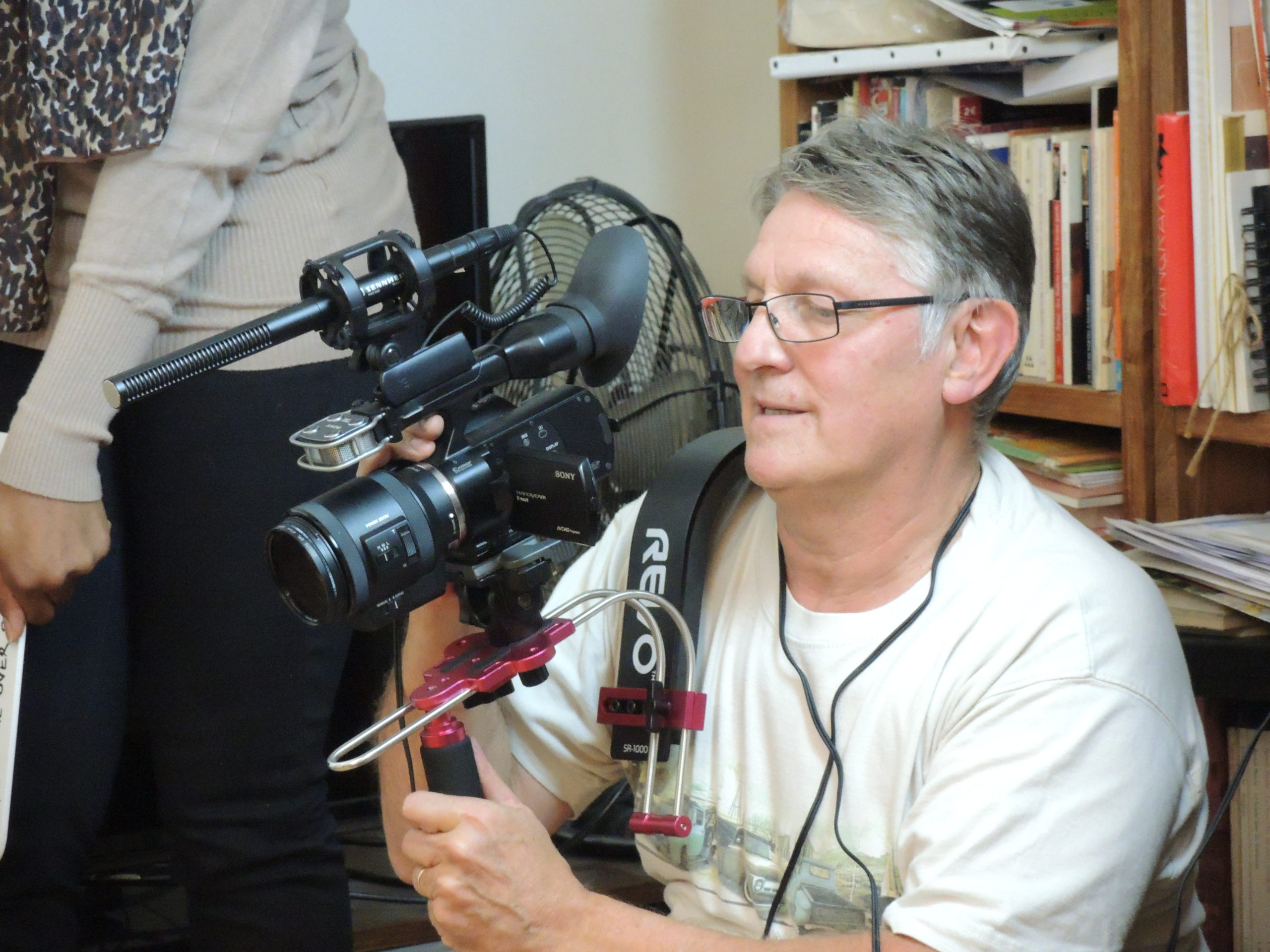 Game over photos tournage 56
