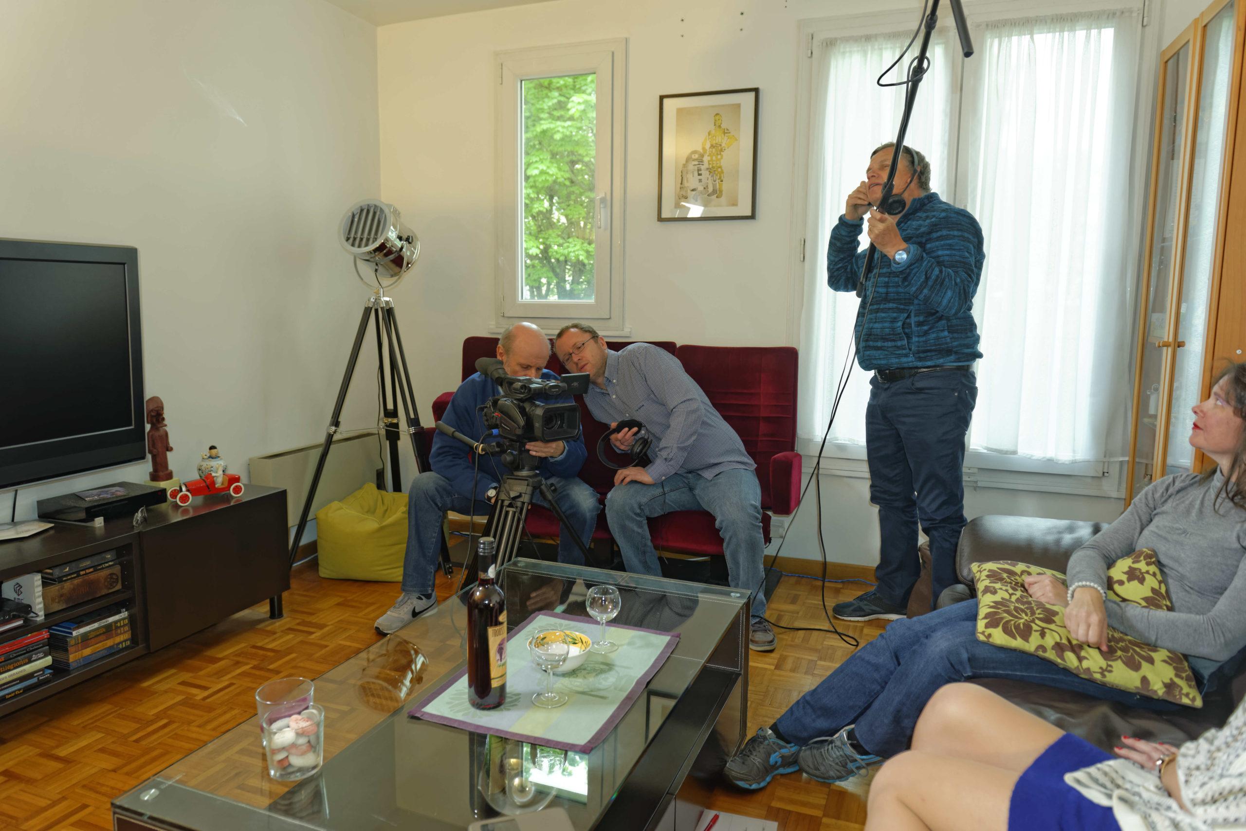 Pere et impair photos tournage 06
