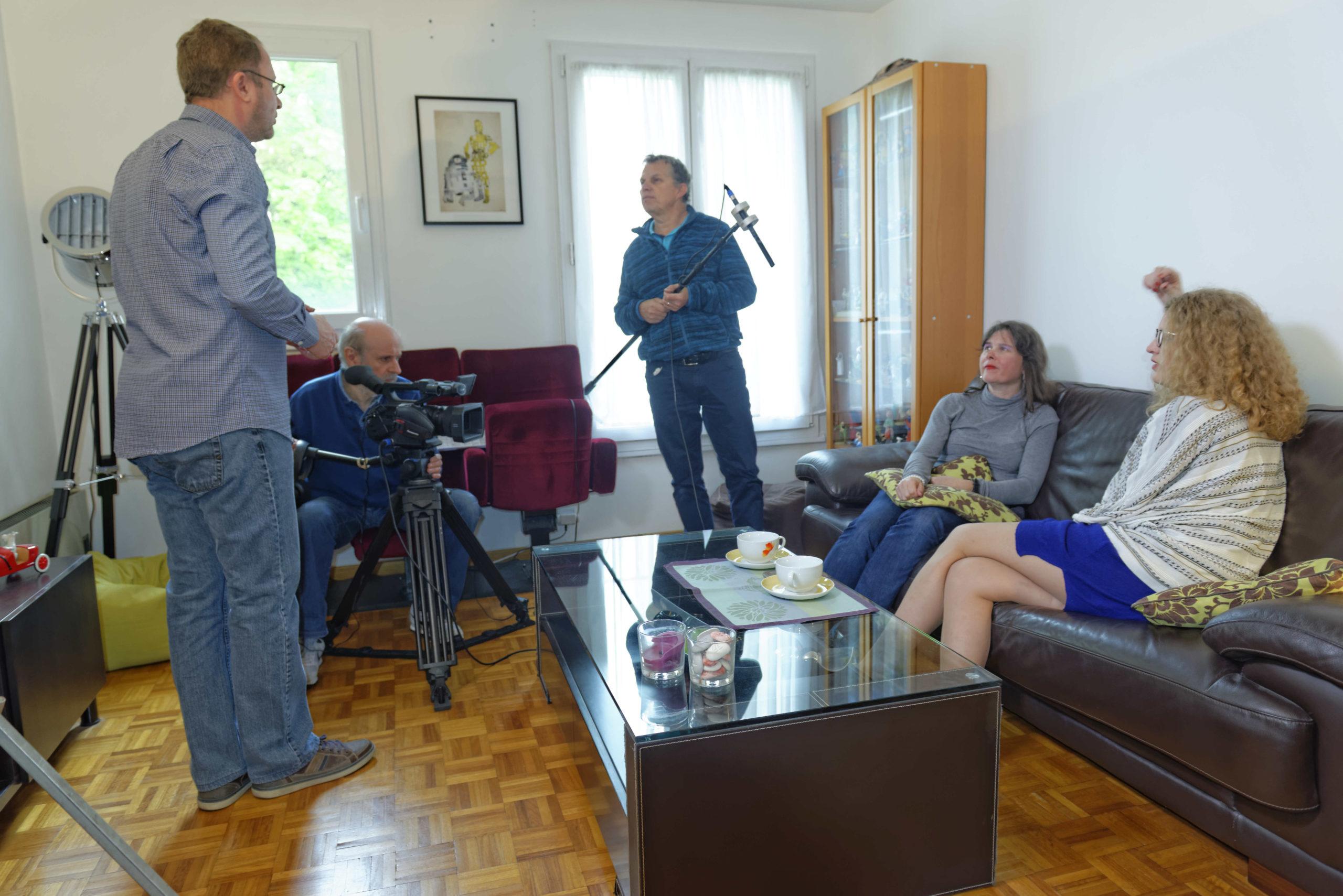 Pere et impair photos tournage 10