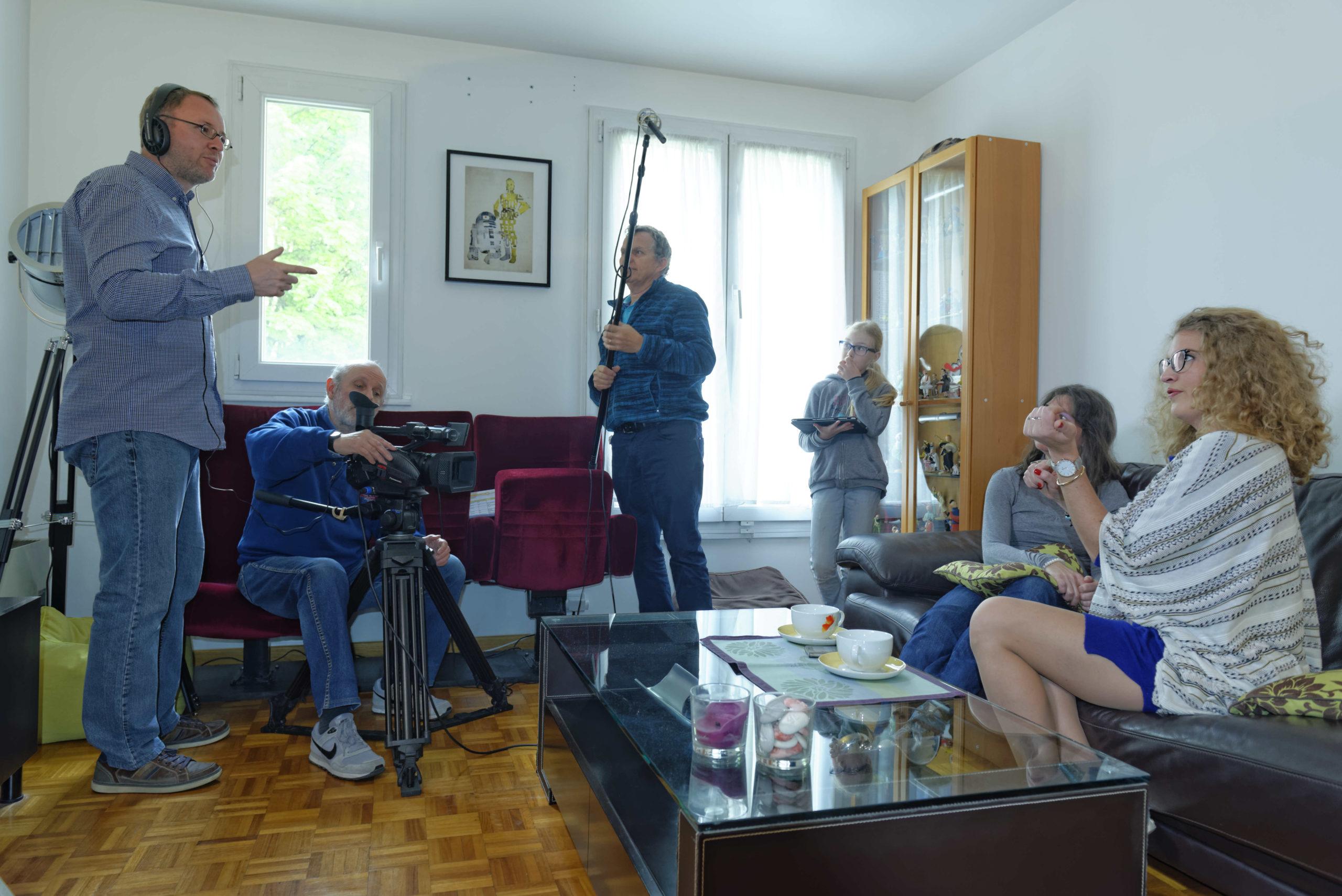 Pere et impair photos tournage 15