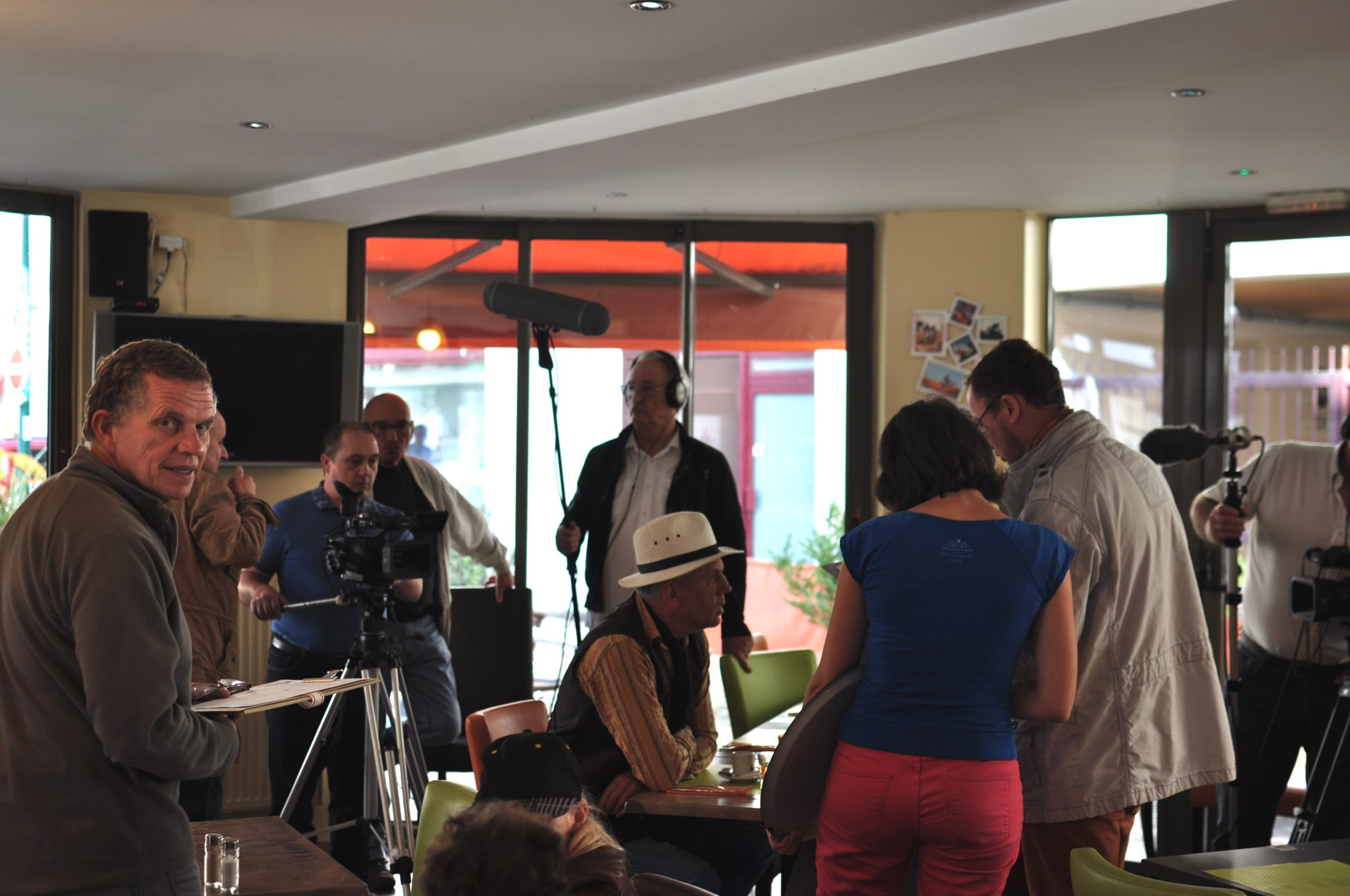 Tontons cadreurs 48hfp 2016 Portrait de famille tournage 17