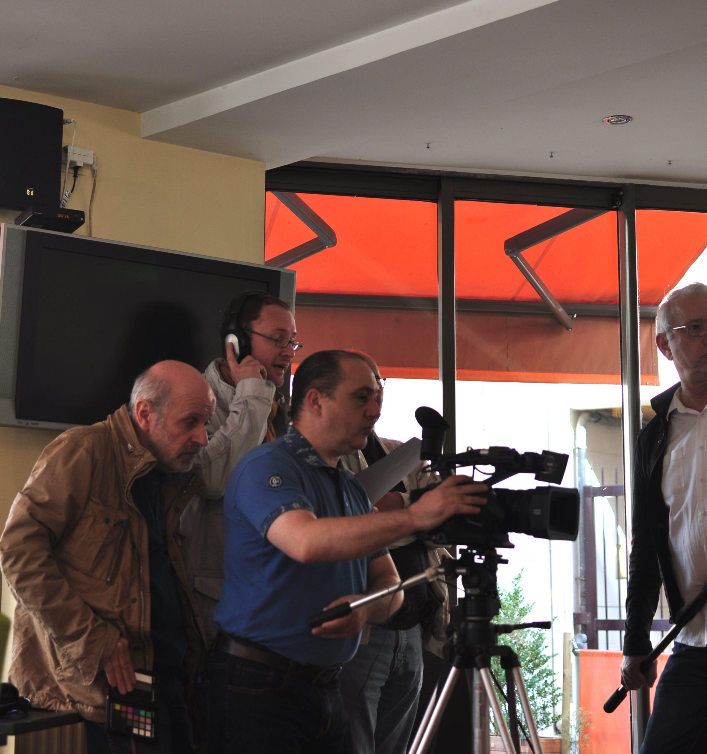 Tontons cadreurs 48hfp 2016 Portrait de famille tournage 18