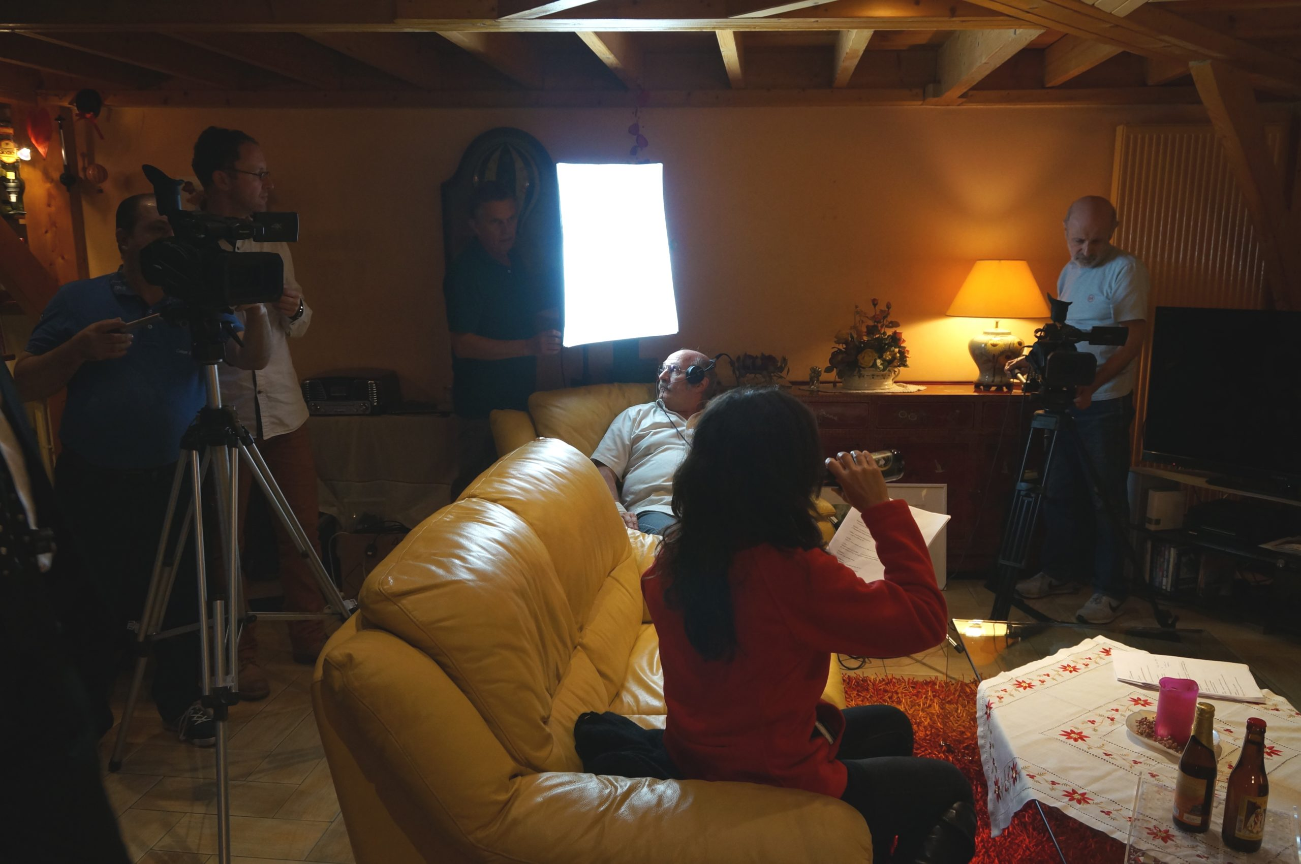 Tontons cadreurs 48hfp 2016 Portrait de famille tournage 2