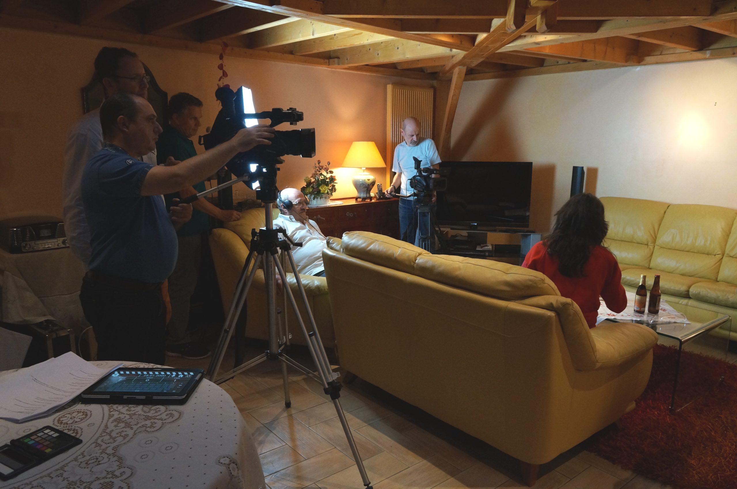 Tontons cadreurs 48hfp 2016 Portrait de famille tournage 3