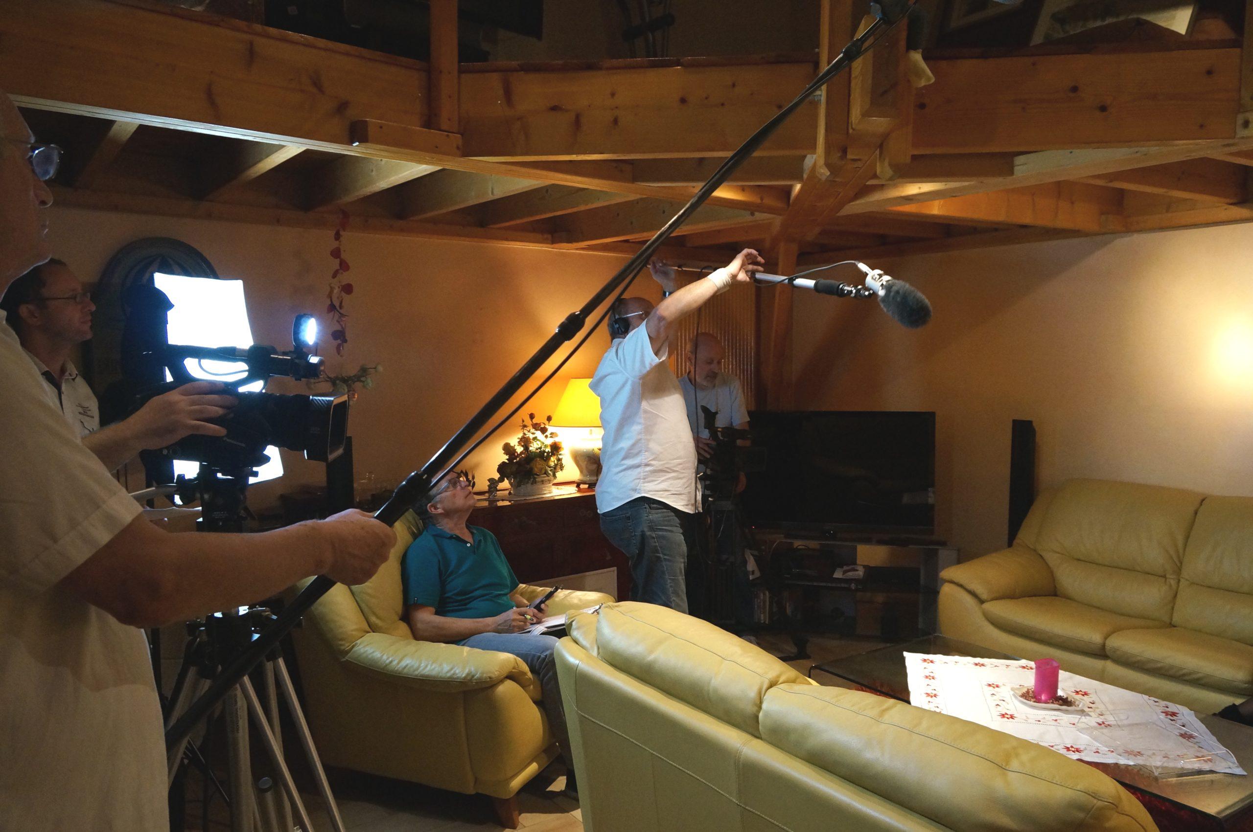 Tontons cadreurs 48hfp 2016 Portrait de famille tournage 4