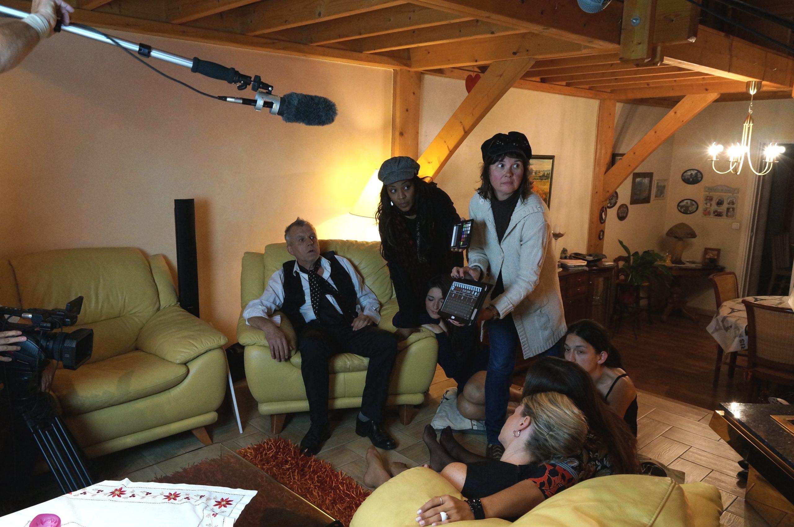 Tontons cadreurs 48hfp 2016 Portrait de famille tournage 5
