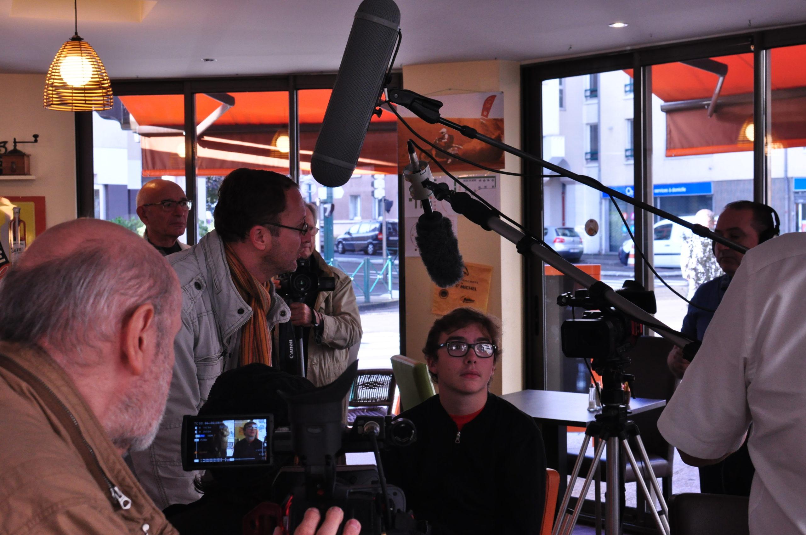 Tontons cadreurs 48hfp 2016 Portrait de famille tournage 9