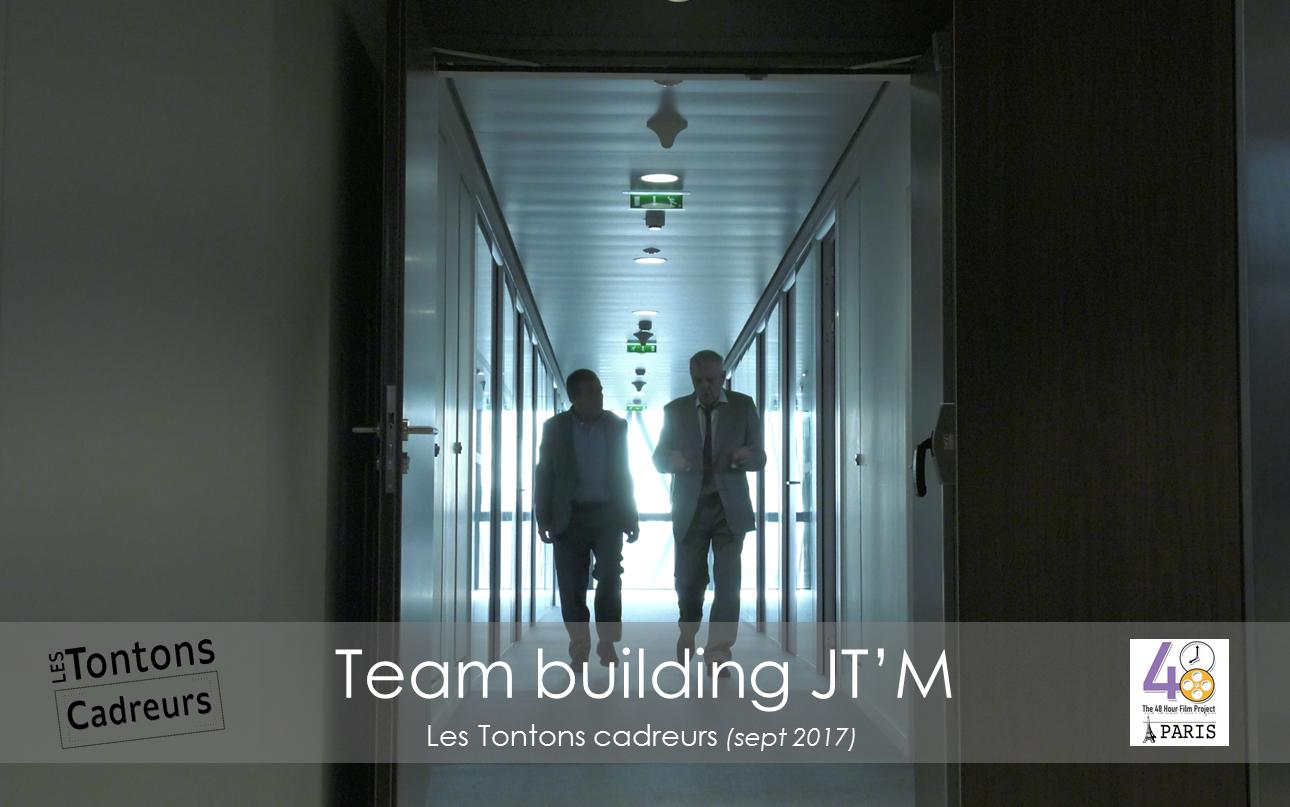 Team building couloir tontons cadreurs