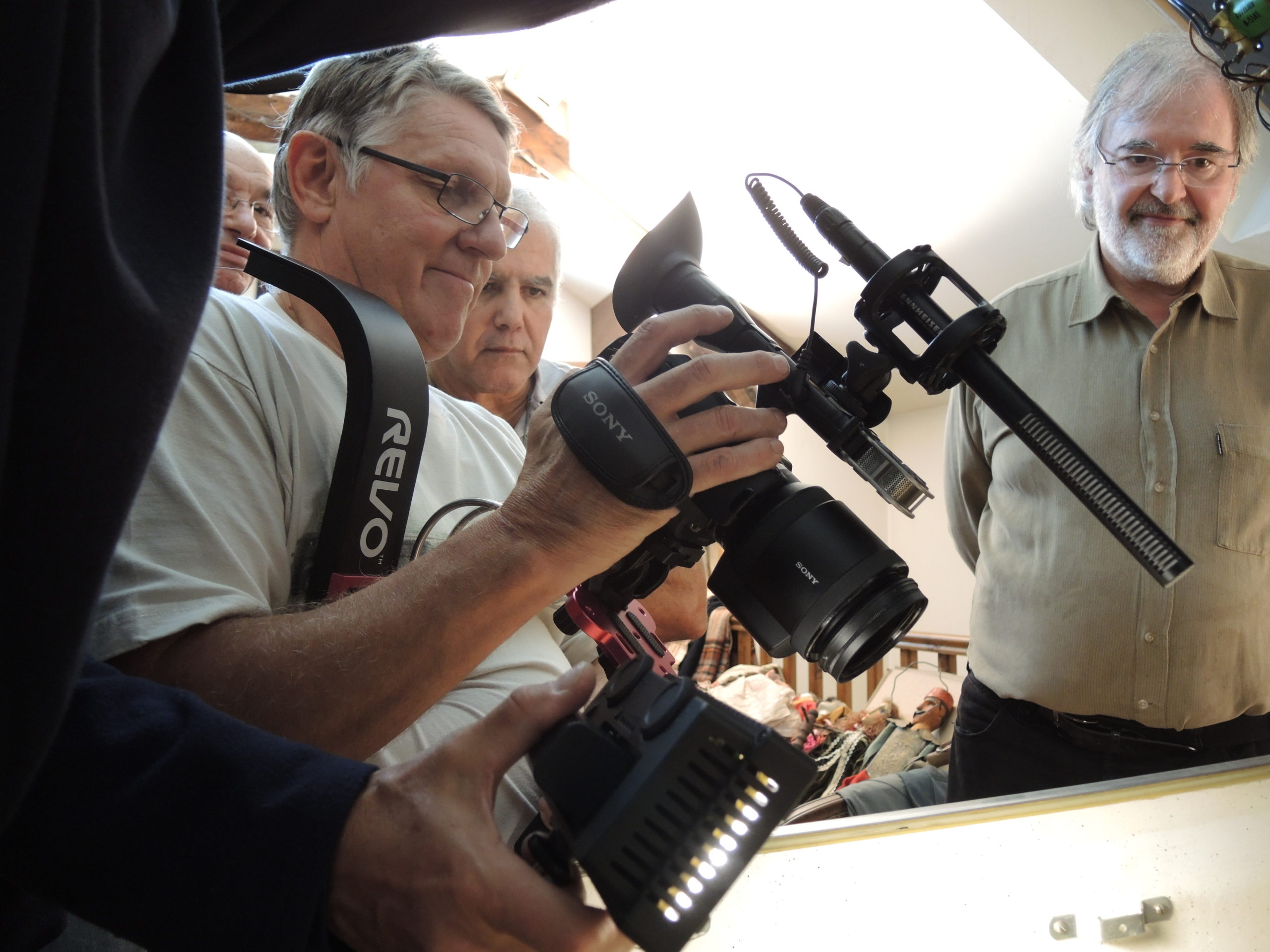 Game over photos tournage 40