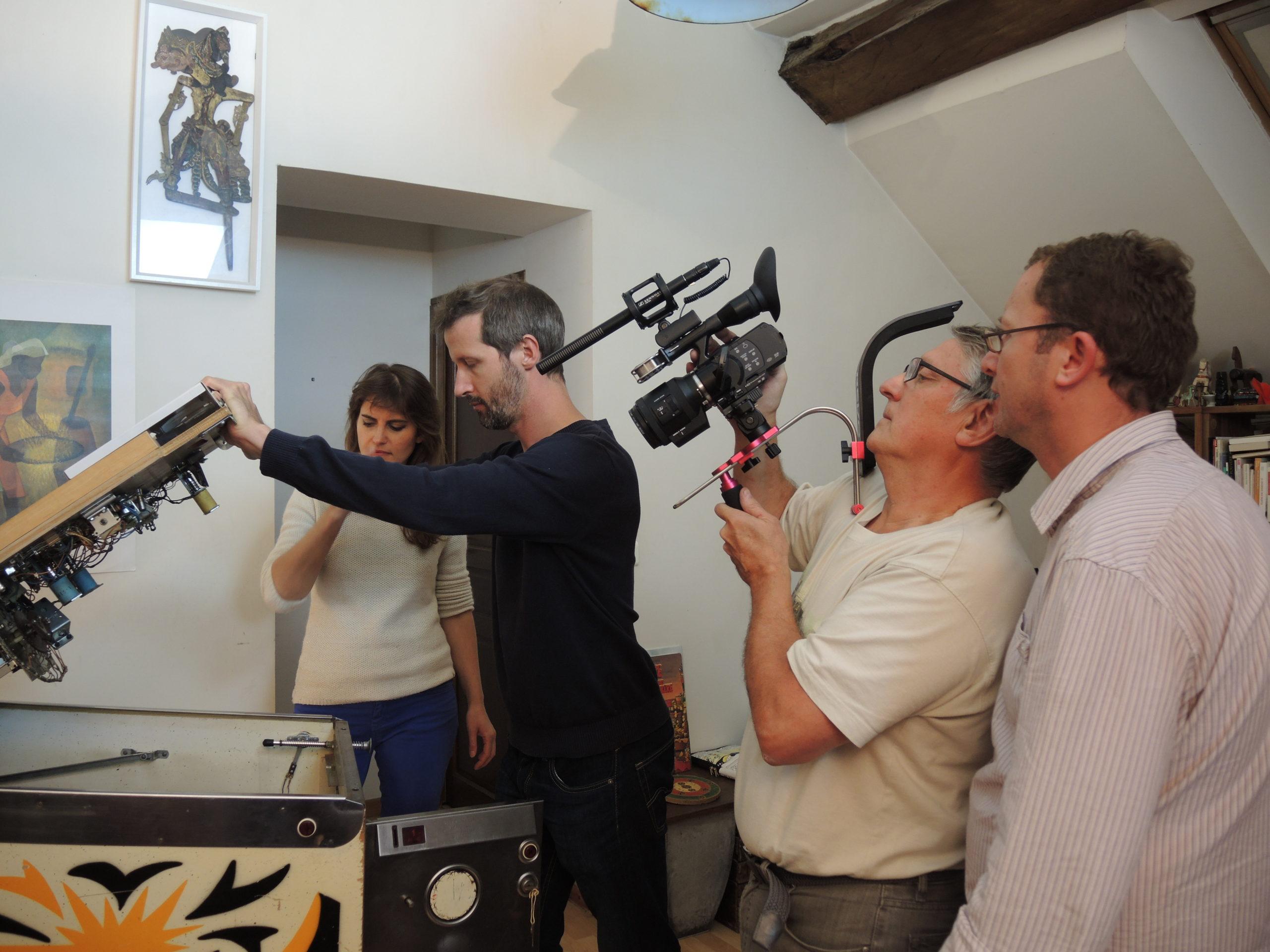 Game over photos tournage 43