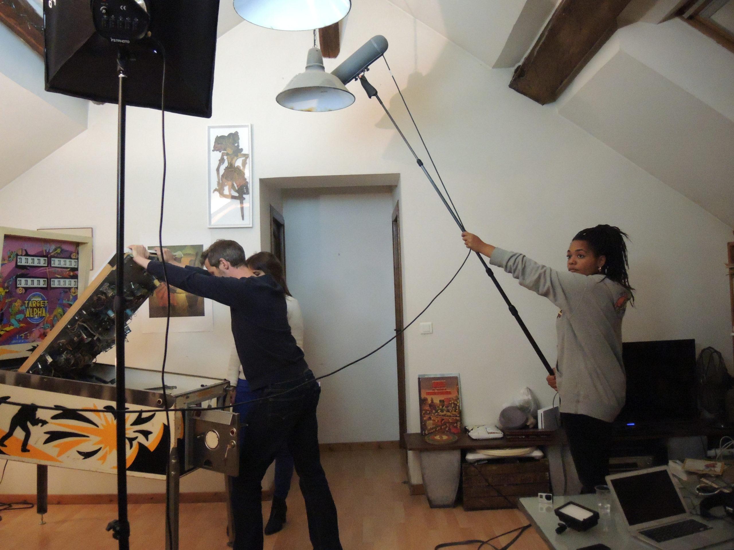 Game over photos tournage 44