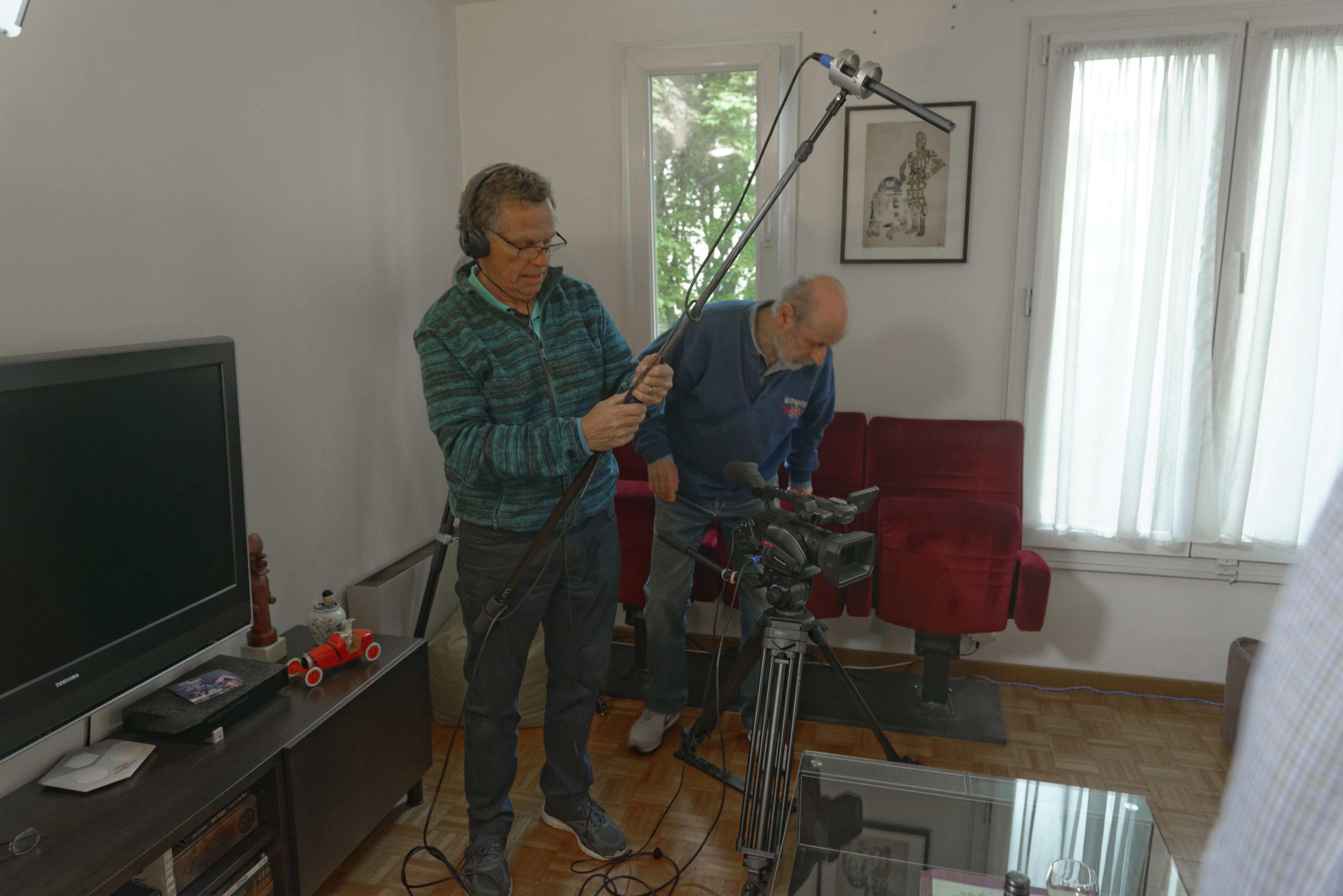 Pere et impair photos tournage 02