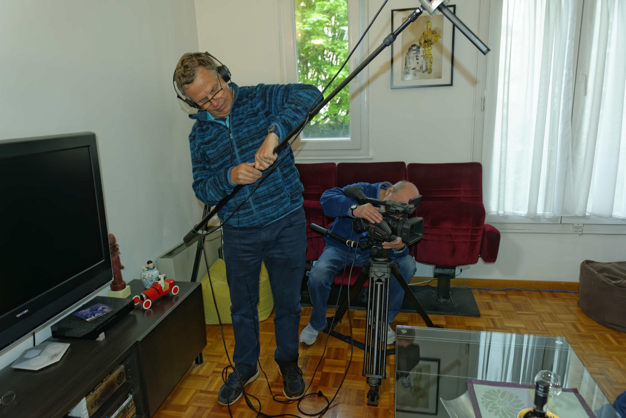 Pere et impair photos tournage 03