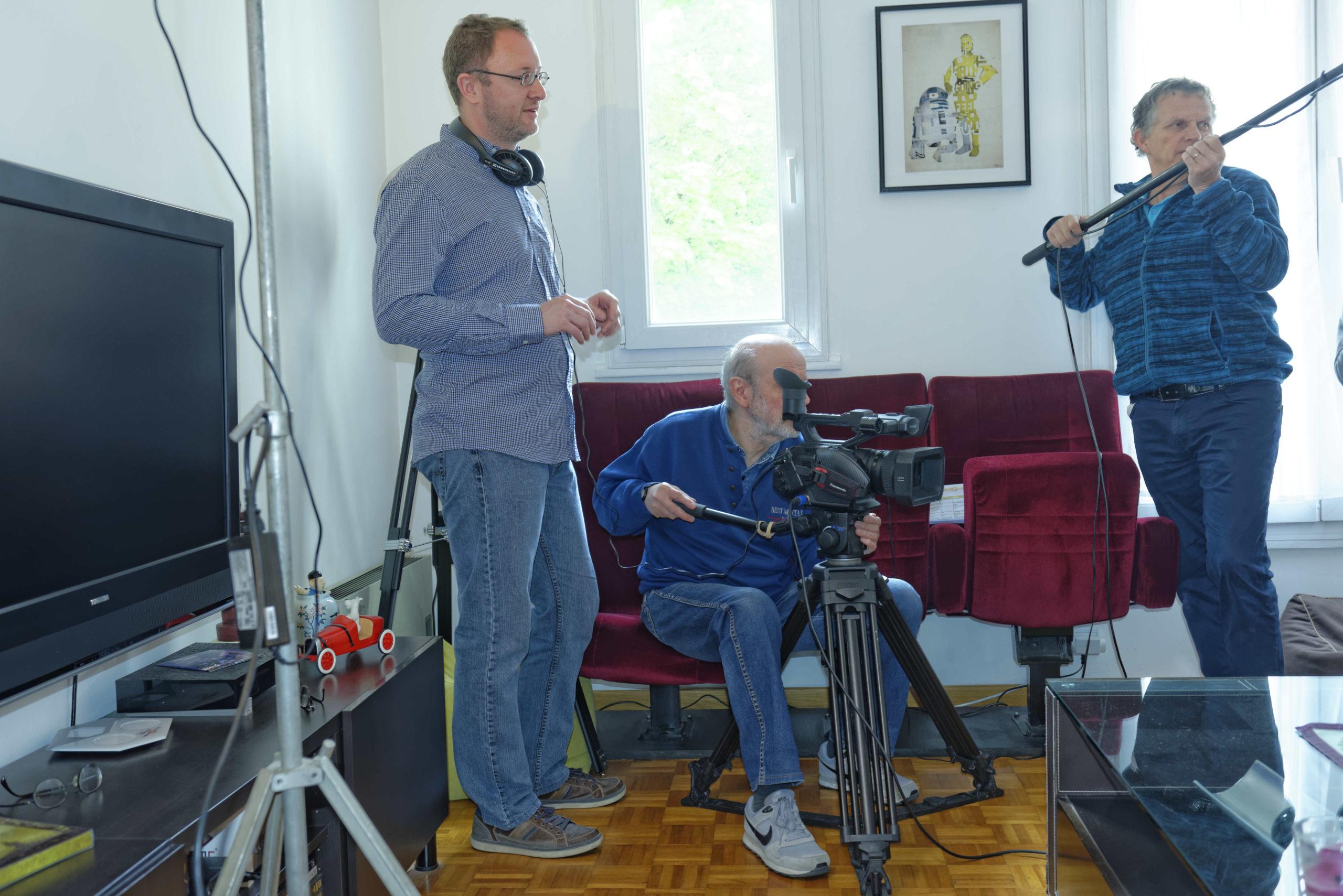 Pere et impair photos tournage 13