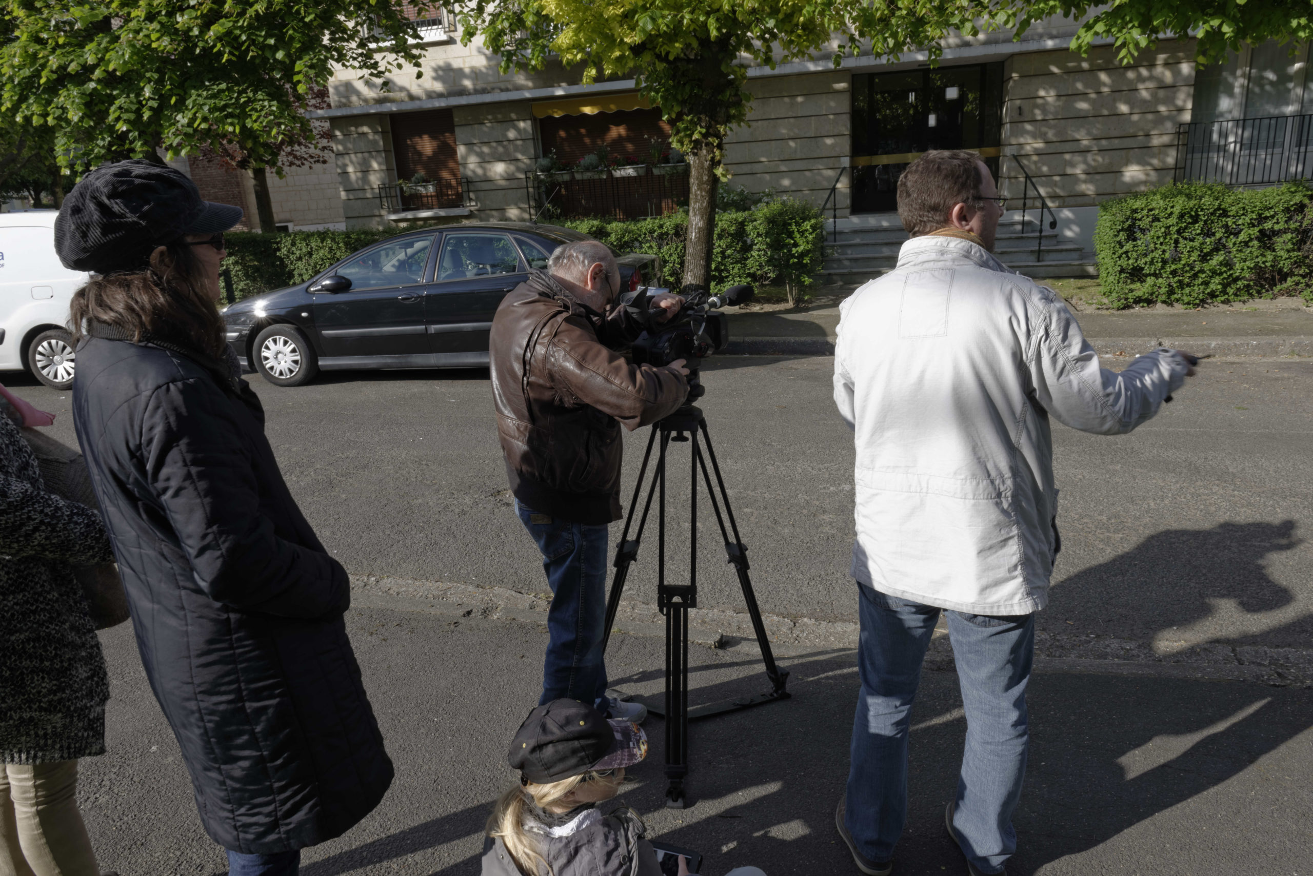 Pere et impair photos tournage 23