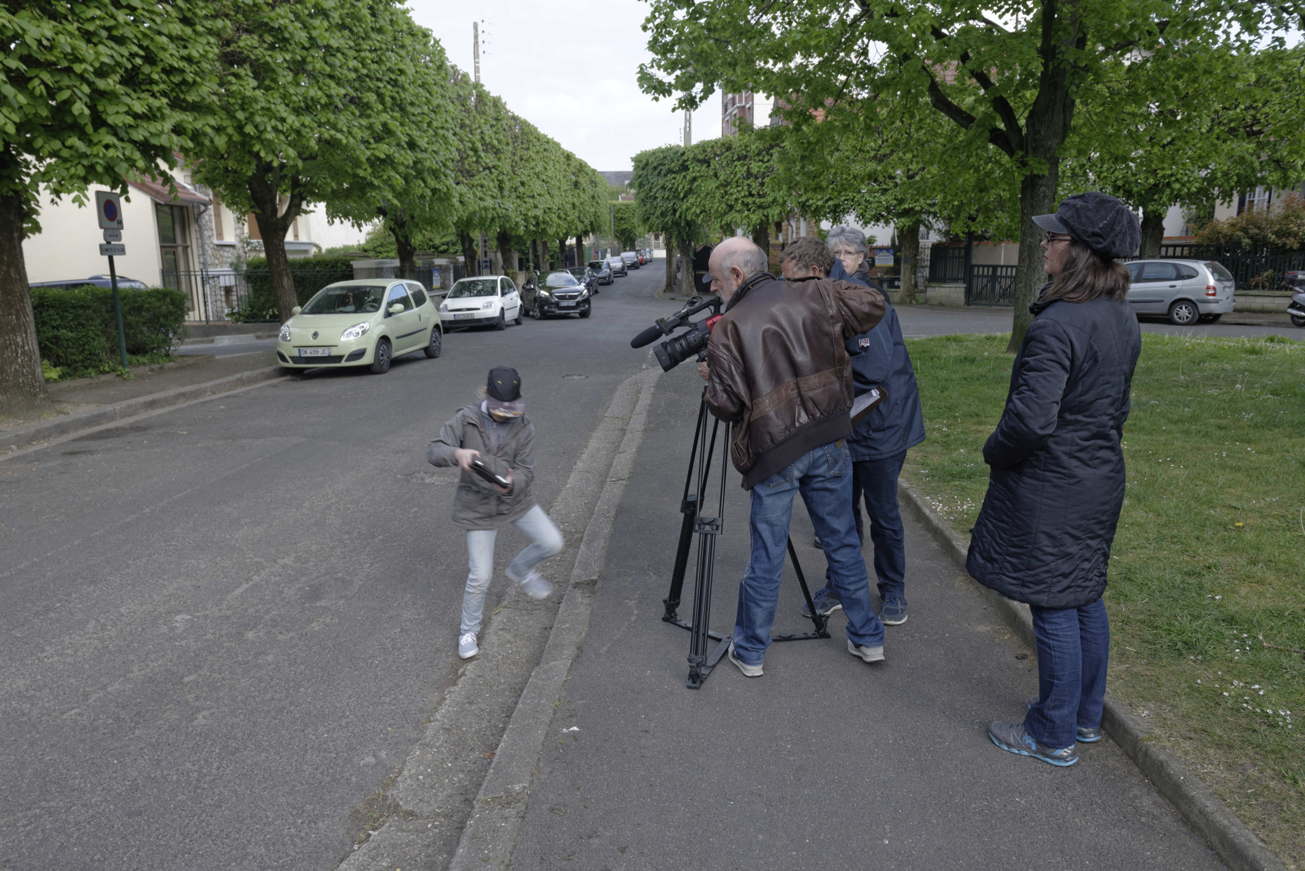 Pere et impair photos tournage 25