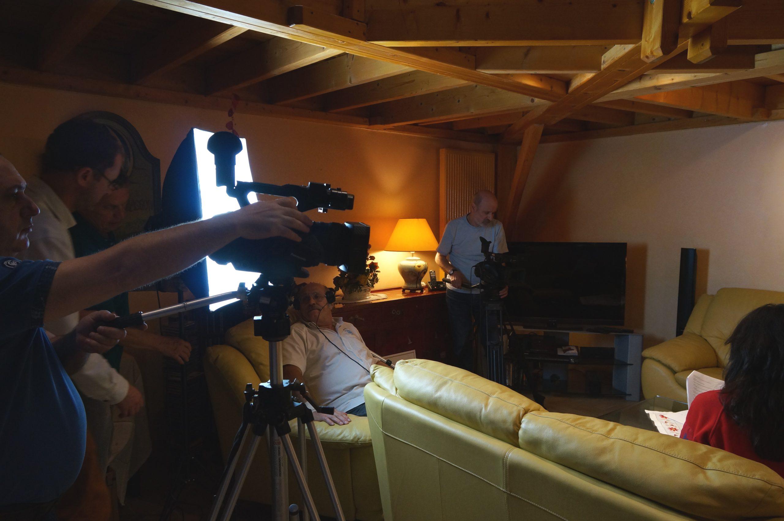 Tontons cadreurs 48hfp 2016 Portrait de famille tournage 1