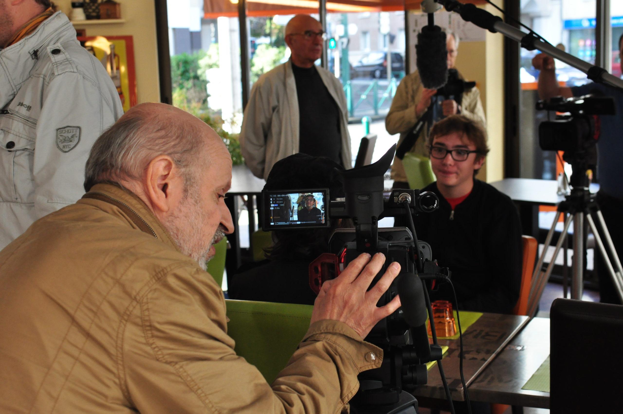 Tontons cadreurs 48hfp 2016 Portrait de famille tournage 14