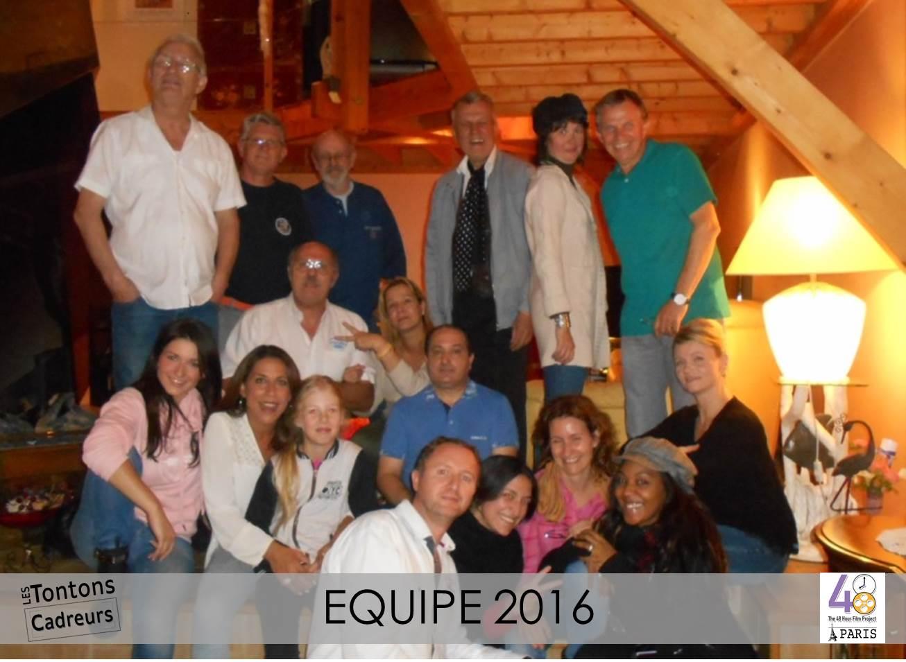 Equipe 2016 48hfp