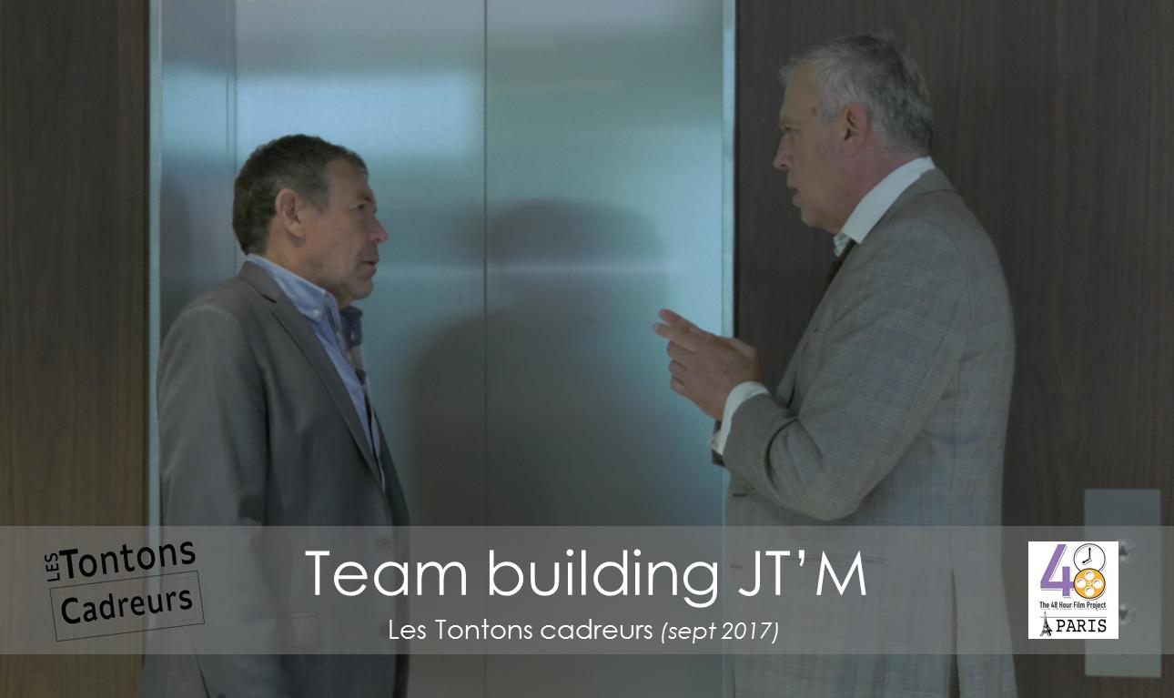 Team building ascenseur tontons cadreurs