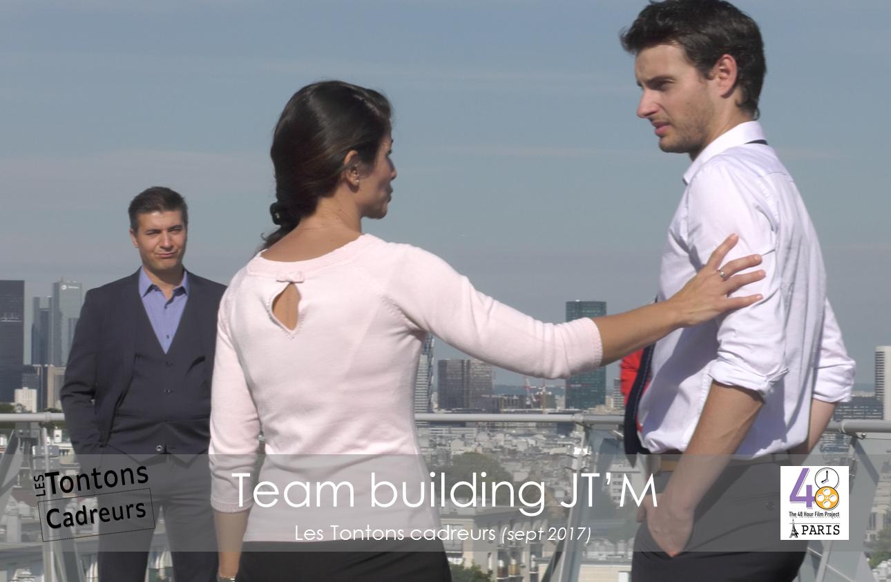 Team building terasse 1 tontons cadreurs